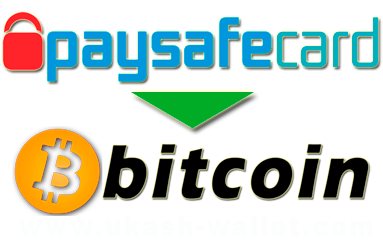 How to exchange Paysafecard to Bitcoin?