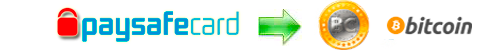 Exchange rates Paysafecard to Bitcoin, Paysafecard to BTC