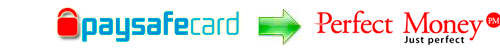 Exchange rates Paysafecard to Perfect Money EUR, Paysafecard to Perfect Money USD.