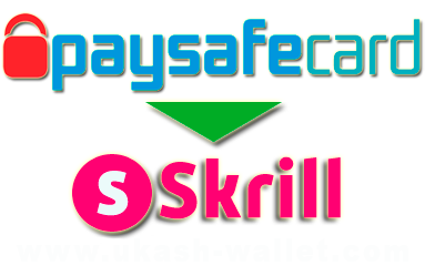 How to exchange Paysafecard to Skrill?