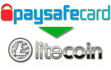 How to exchange Paysafecard to Litecoin?
