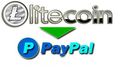 How to exchange Litecoin to PayPal?