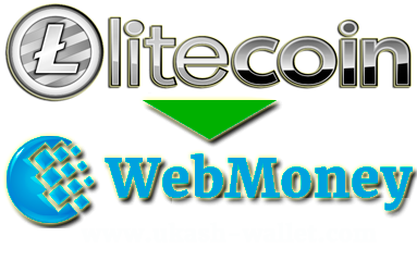 How to exchange Litecoin to Webmoney?